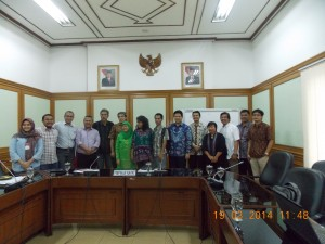 Pertemuan pengurus PJS dan Komisioner KPU